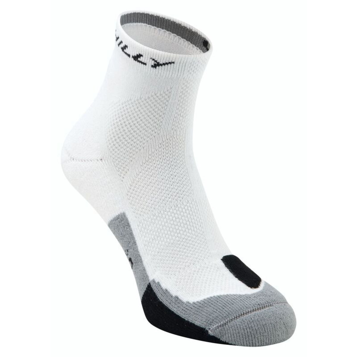 Image of Chaussettes Hilly Cushion - S White/Black/Grey | Chaussettes