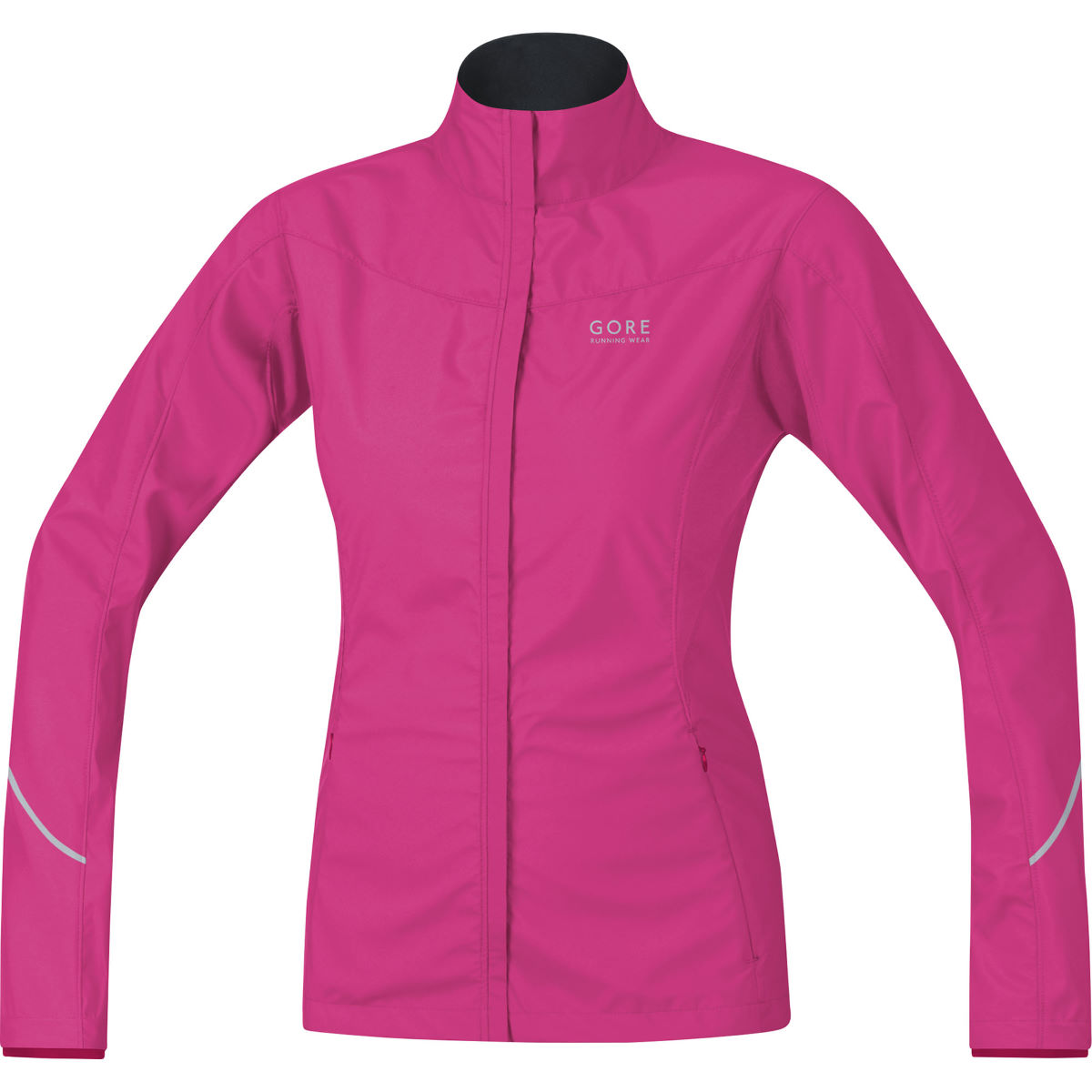 Image of Veste Femme Gore Running Wear WINDSTOPPER® AS Partial - L jazzy pink