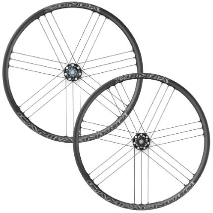 Campagnolo Zonda C17 Disc Brake Wheelset (Bolt Thru 6 Bolt)