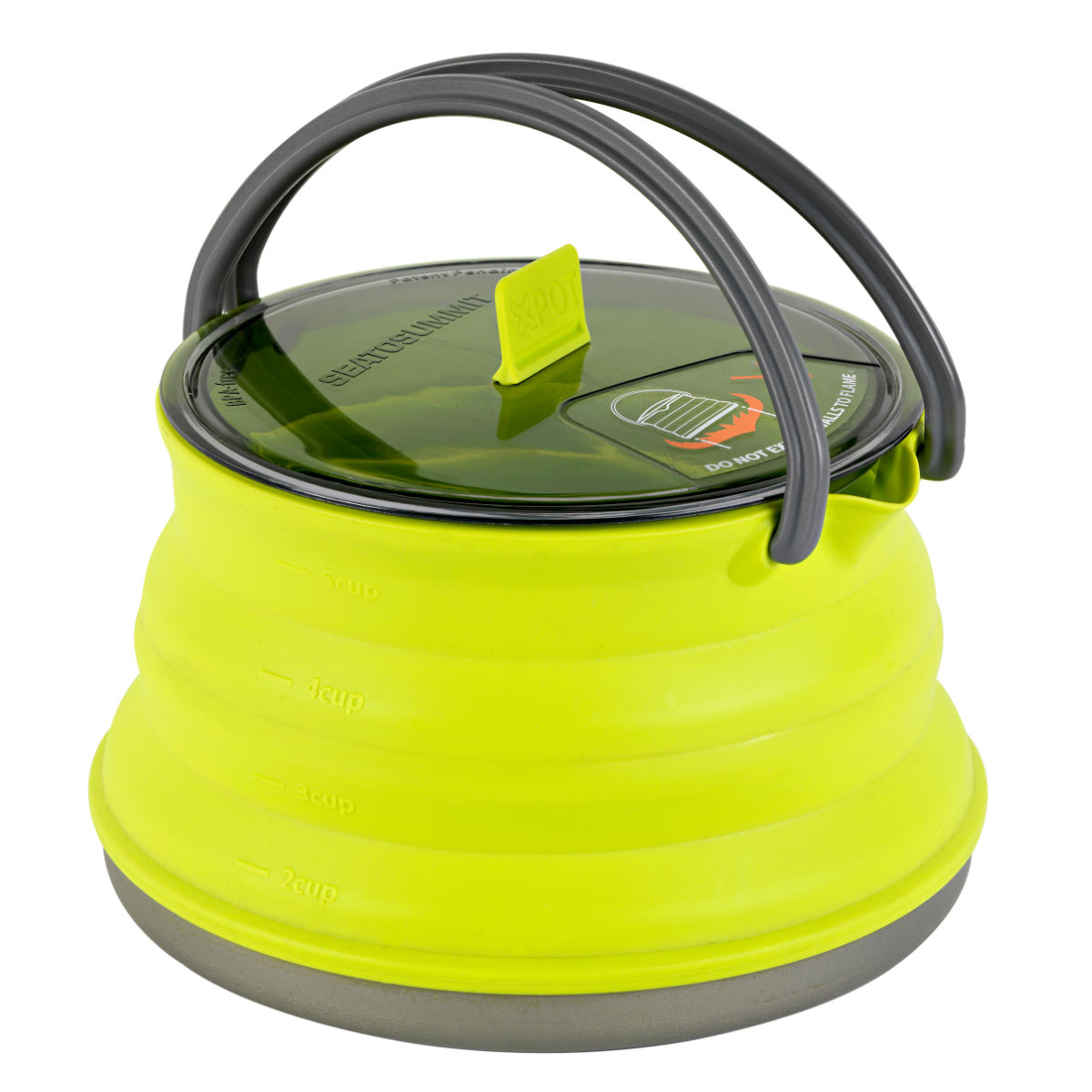 Image of Bouilloire Sea To Summit X-Pot (1,3 litre) - Taille unique Lime