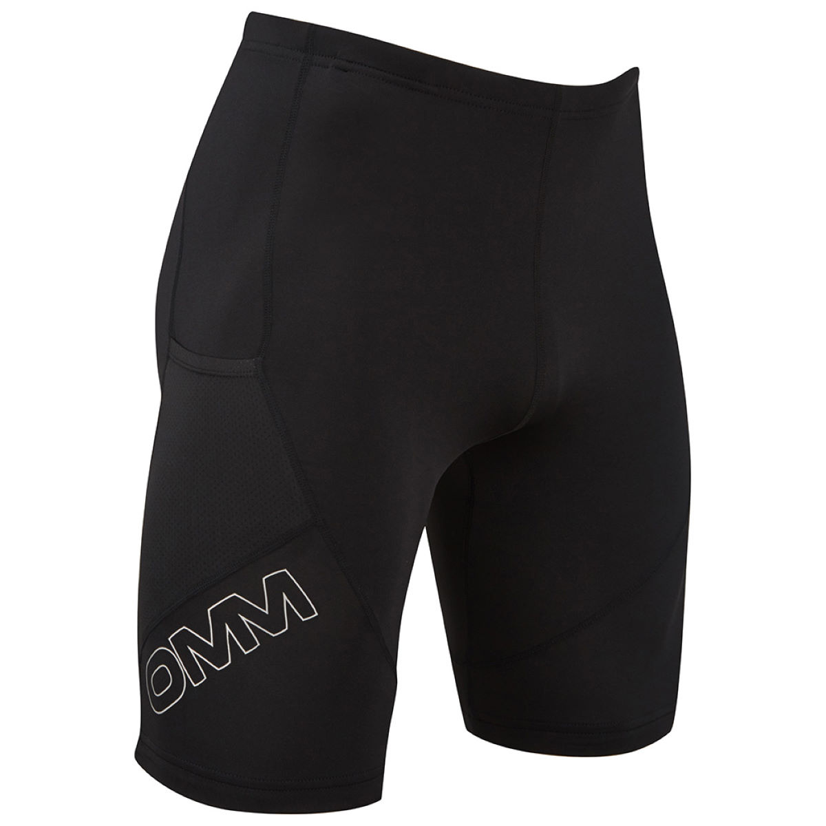 Collant OMM Flash 0,5 - XL Noir  Shorts
