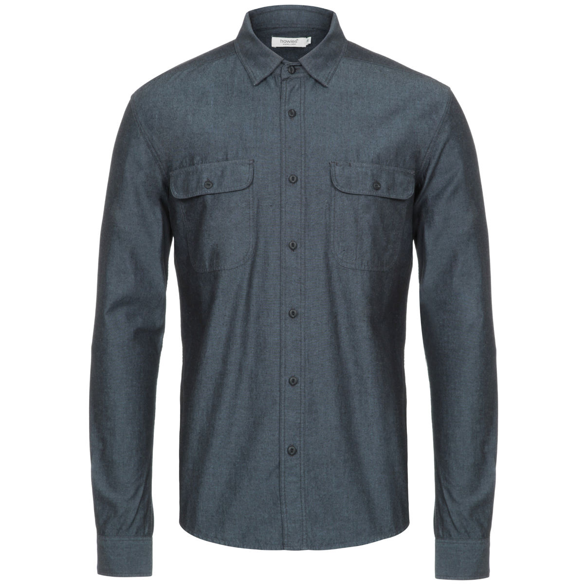 Howies redford shirt casual shirts light wash ss17 m17shico82redbrlight wash s 0