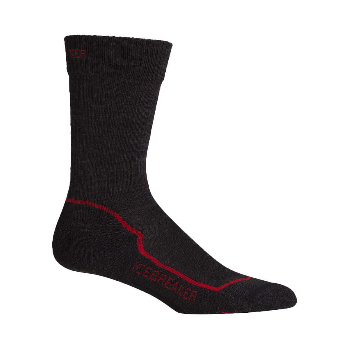 Icebreaker Hike+ Light Merino Crew - S Grey  Socks