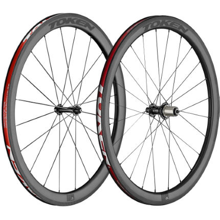 Token Resolute C45R Carbon Clincher Road Wheelset