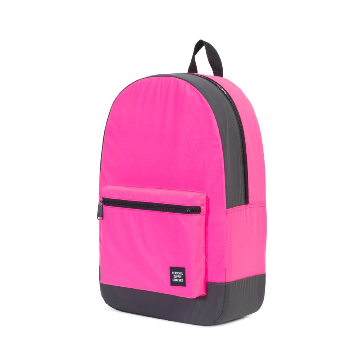 Image of Sac à dos Herschel (repliable) - Taille unique Neon Pink Reflective