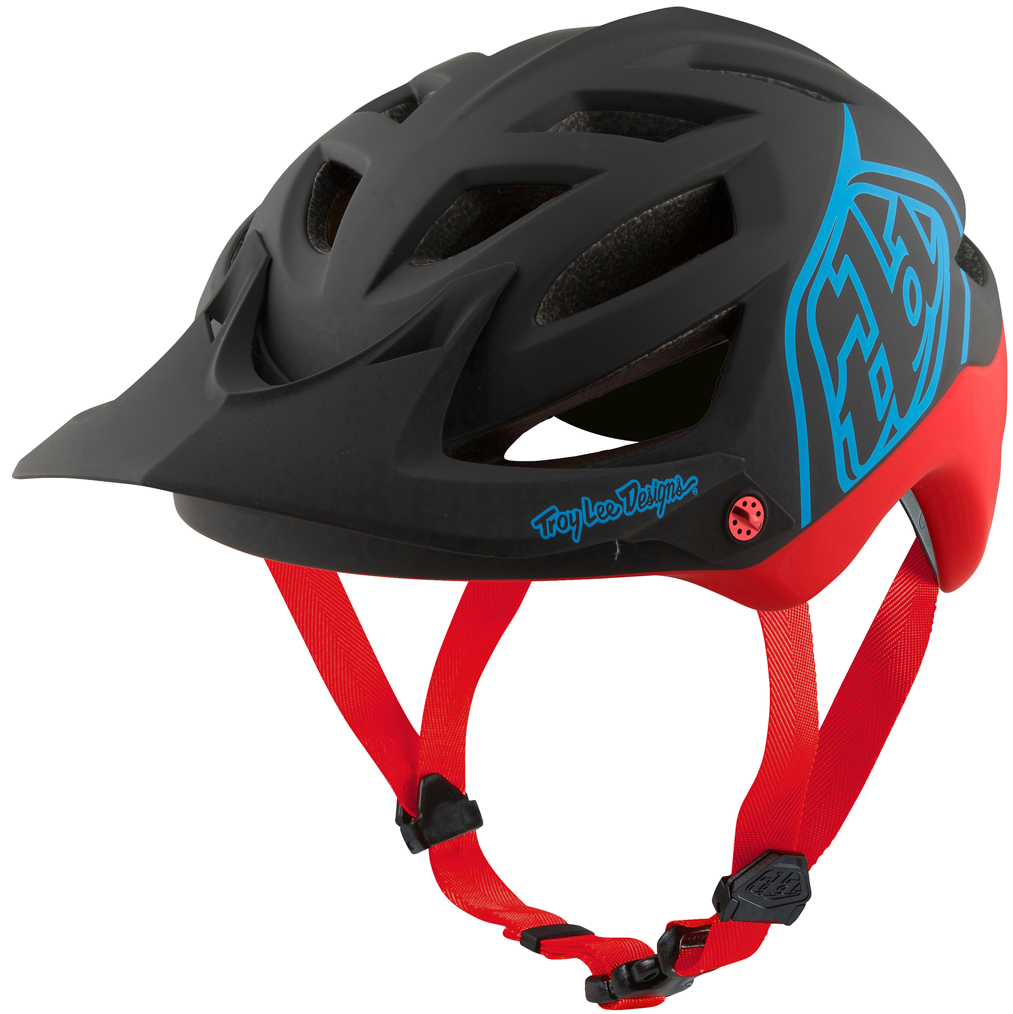 Troy Lee Designs A1 MIPS Classic MTB Helmet - Red | Helmets