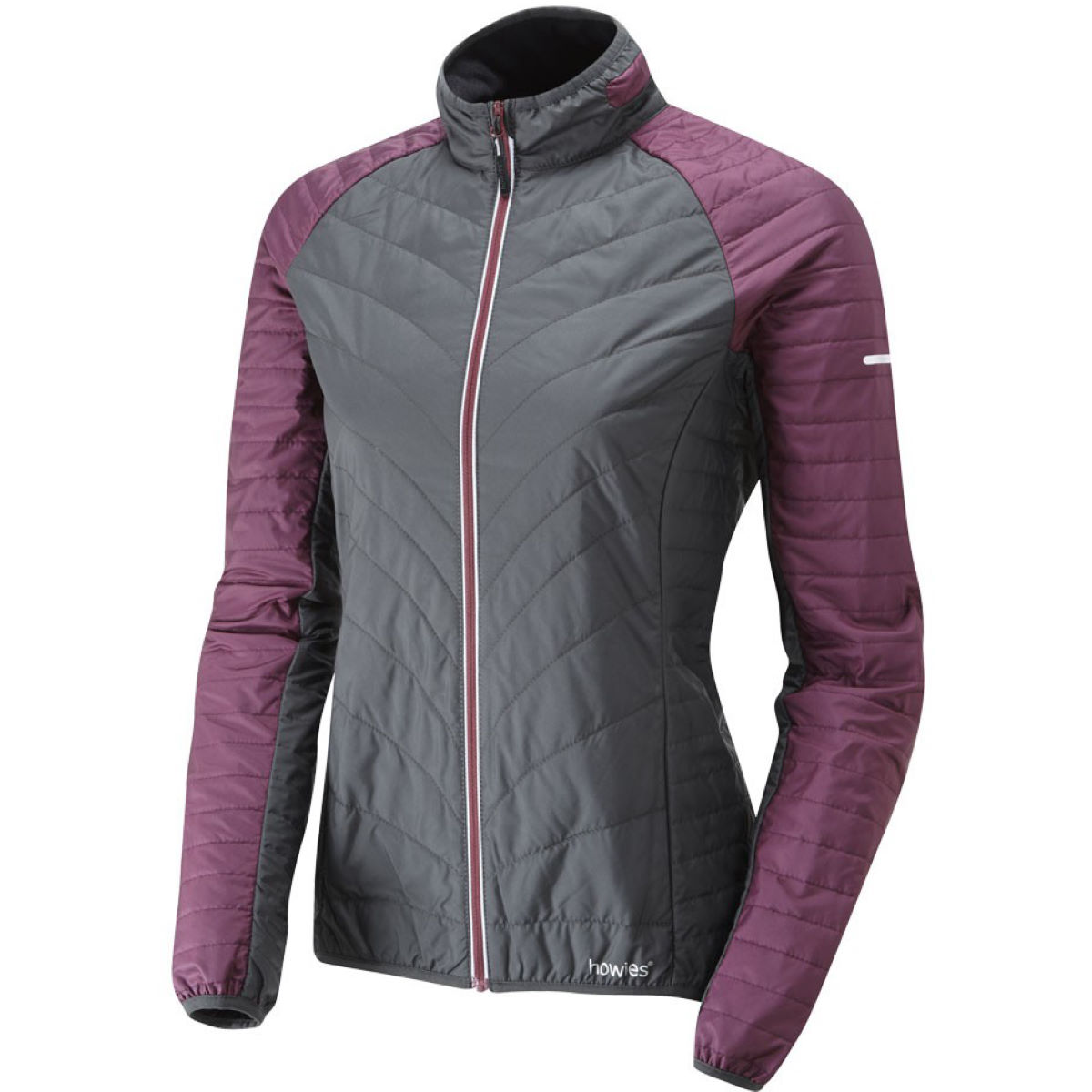 Veste Femme howies May Wadded Recycled Poly - M Fig  Vestes