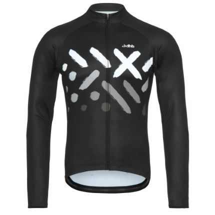 dhb Blok Thermal Long Sleeve Jersey - Dazzle