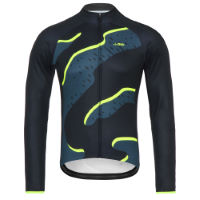 dhb Blok Thermal Long Sleeve Jersey - Strata