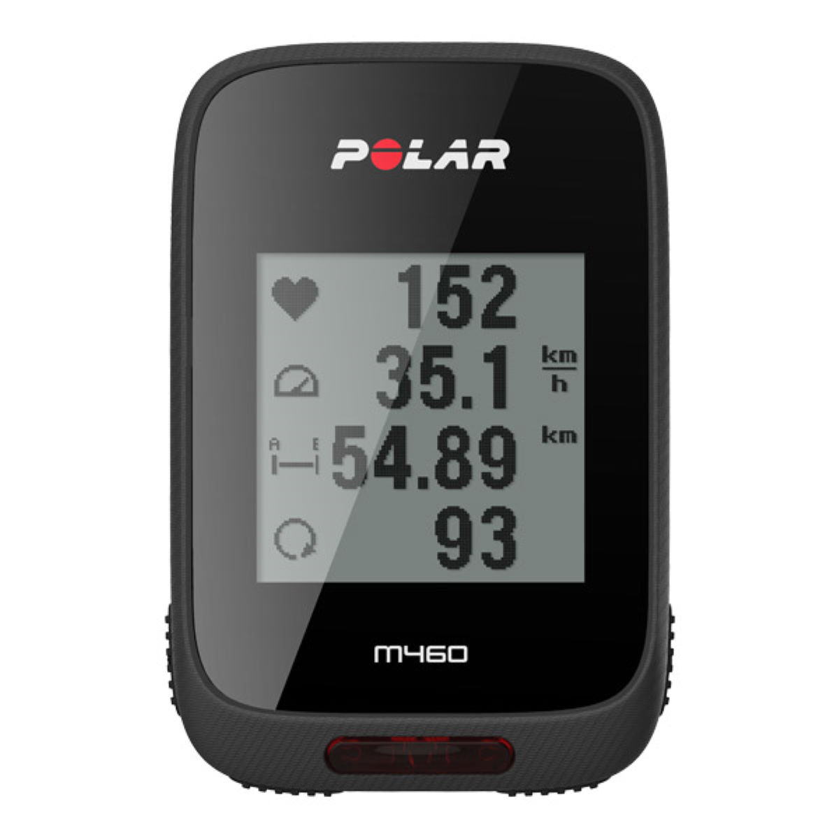 Polar m460 non hrm gps cycle computers black notset 90064757