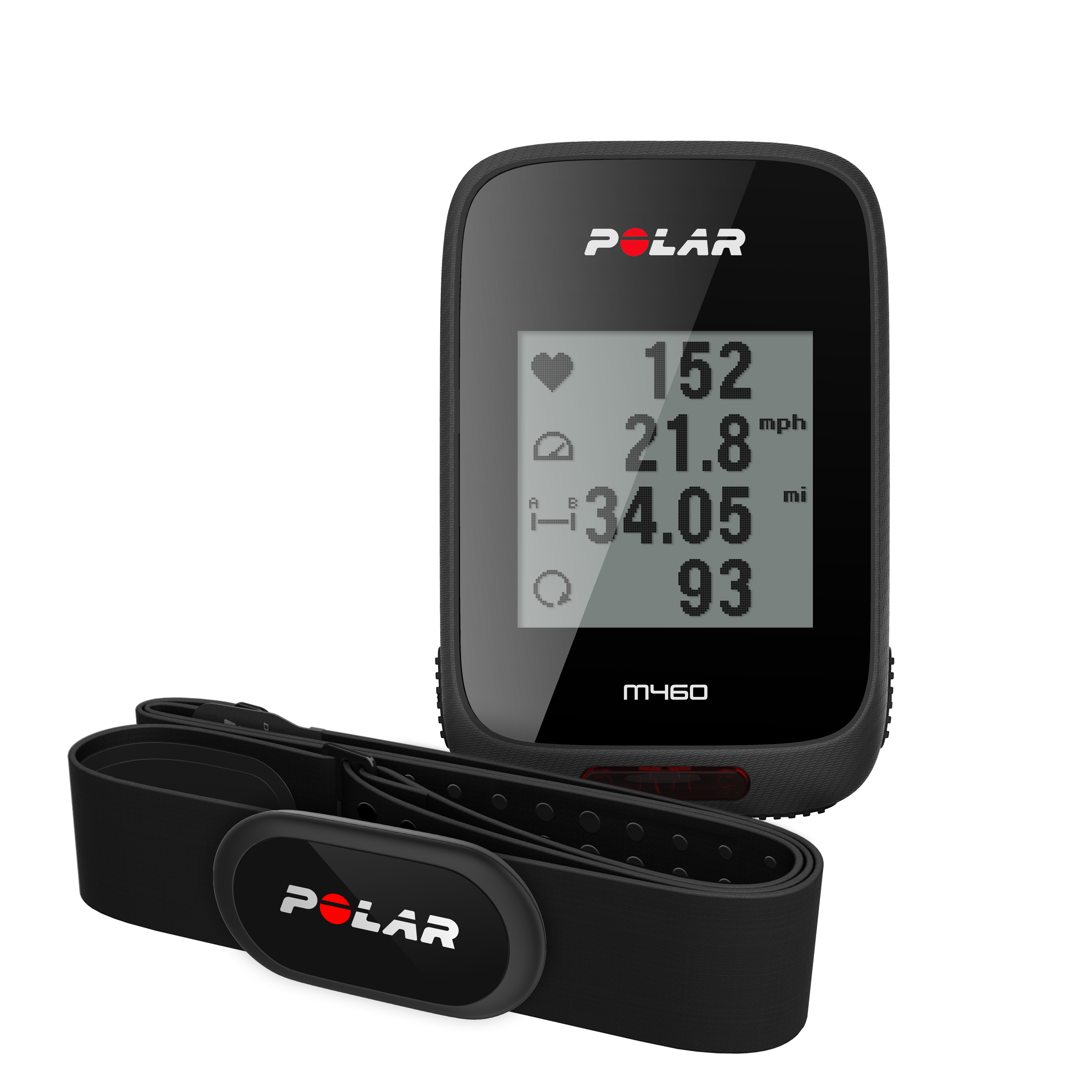 Polar M460 HRM   Cycle computers