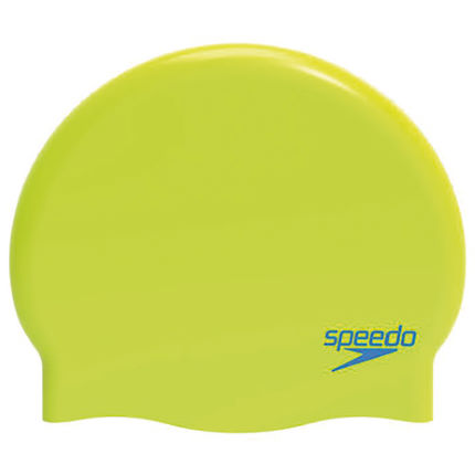 Speedo Junior Plain Moulded Silicone Cap