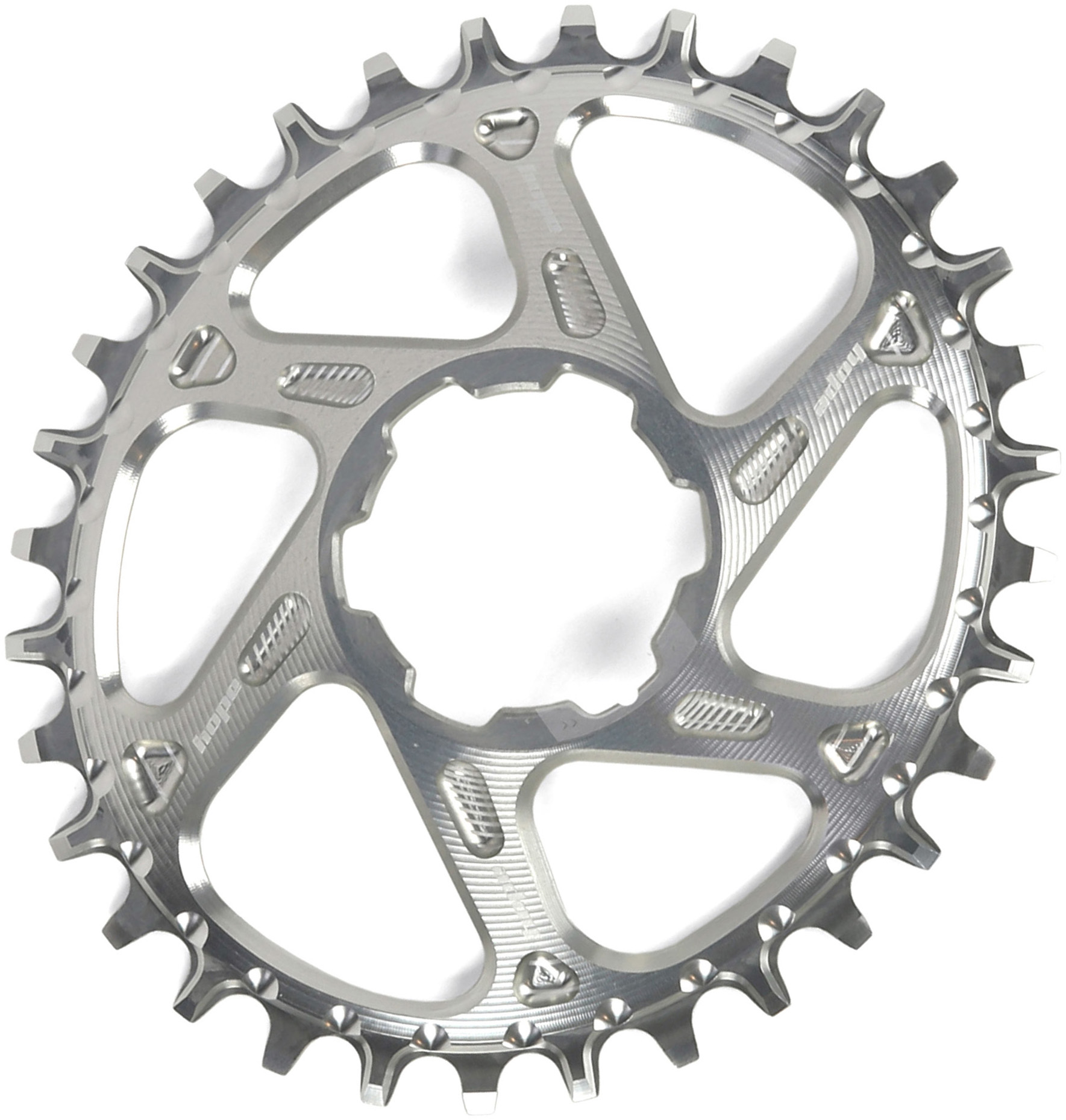 Hope Spiderless Retainer Ring Chainring Brand New All Colors 30T and 32T