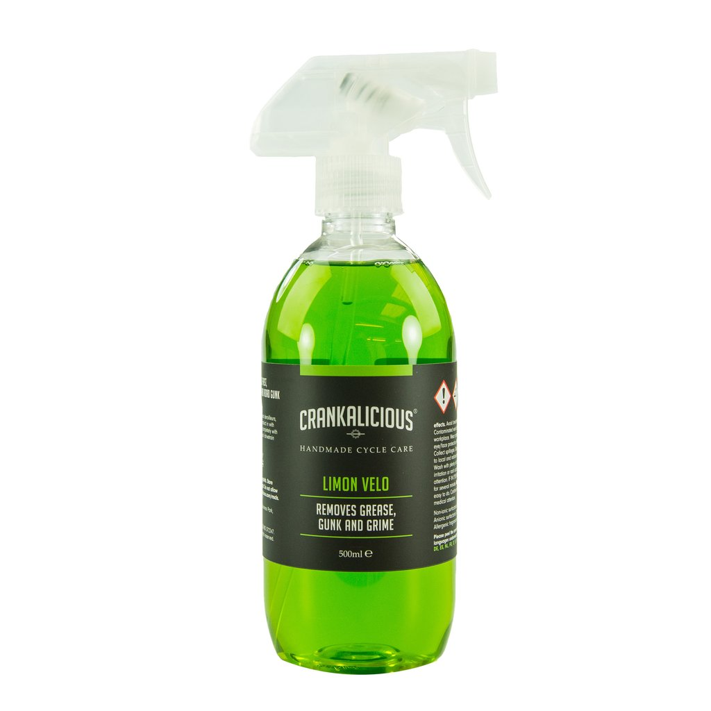 Crankalicious Limon Velo 500ml Degreaser Spray One Size | polish_and_lubricant_component