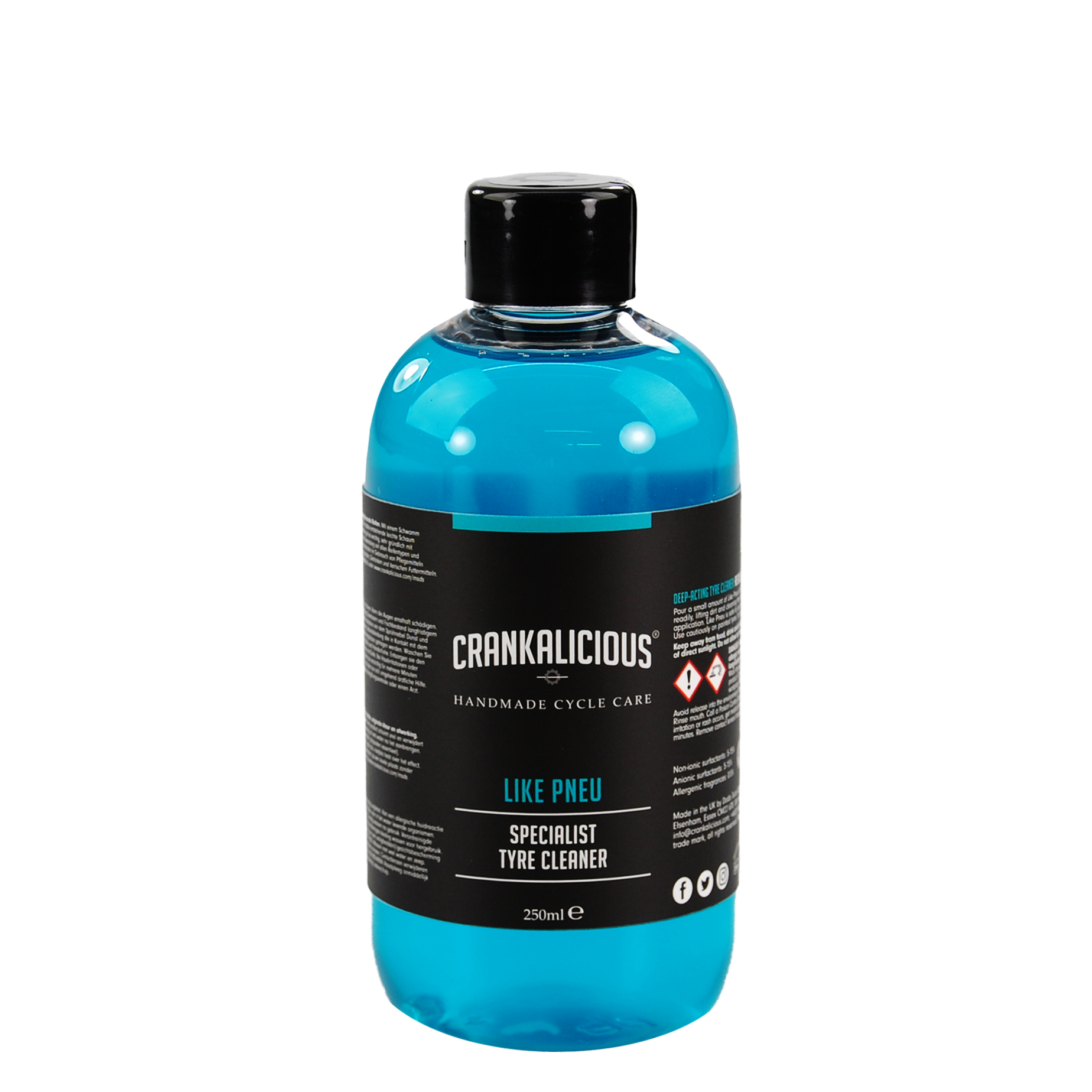 Crankalicious Like Pneu 250ml Tyre Cleaner One Size | Tyres