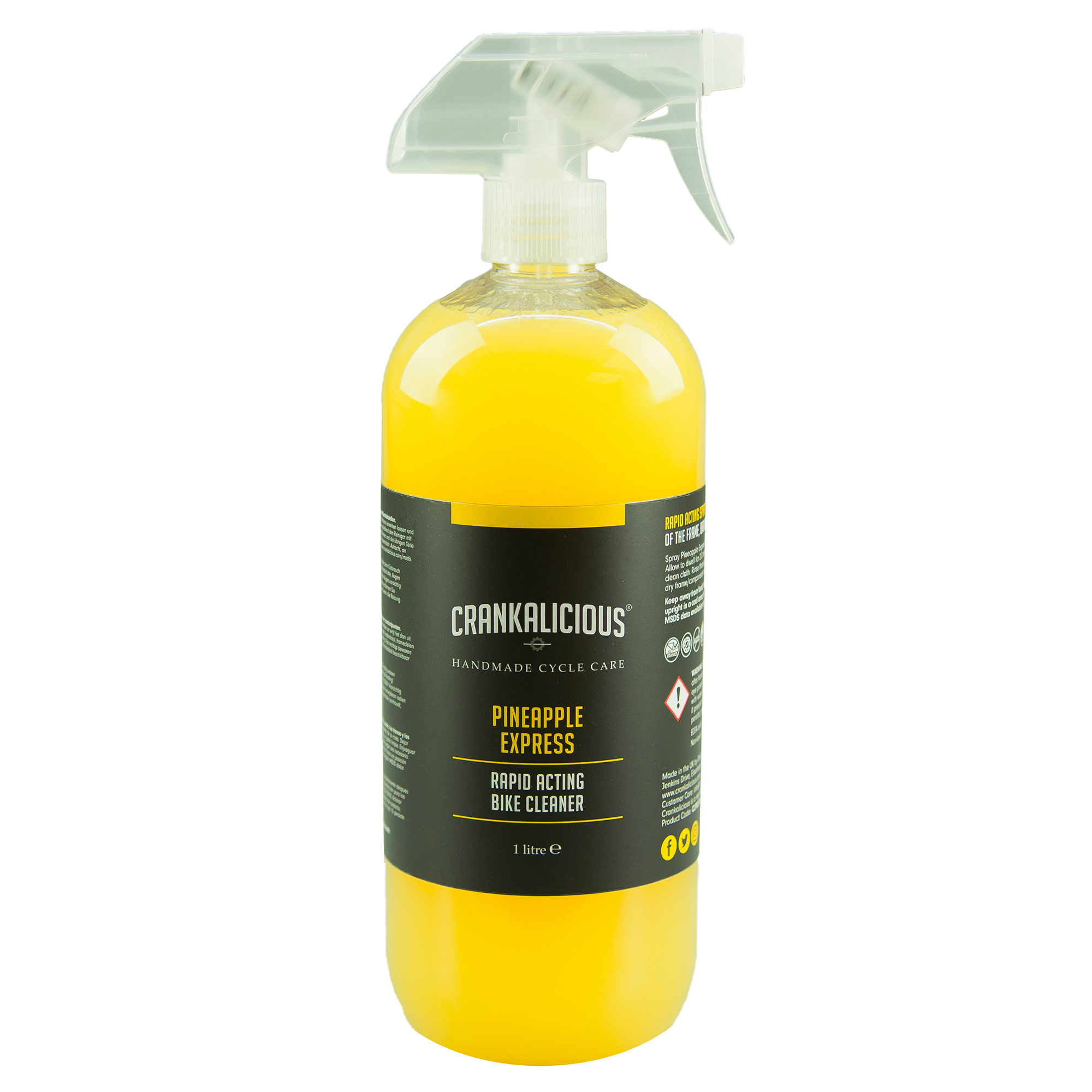 Crankalicious Pineapple Express 1 litre Spray One Size | polish_and_lubricant_component