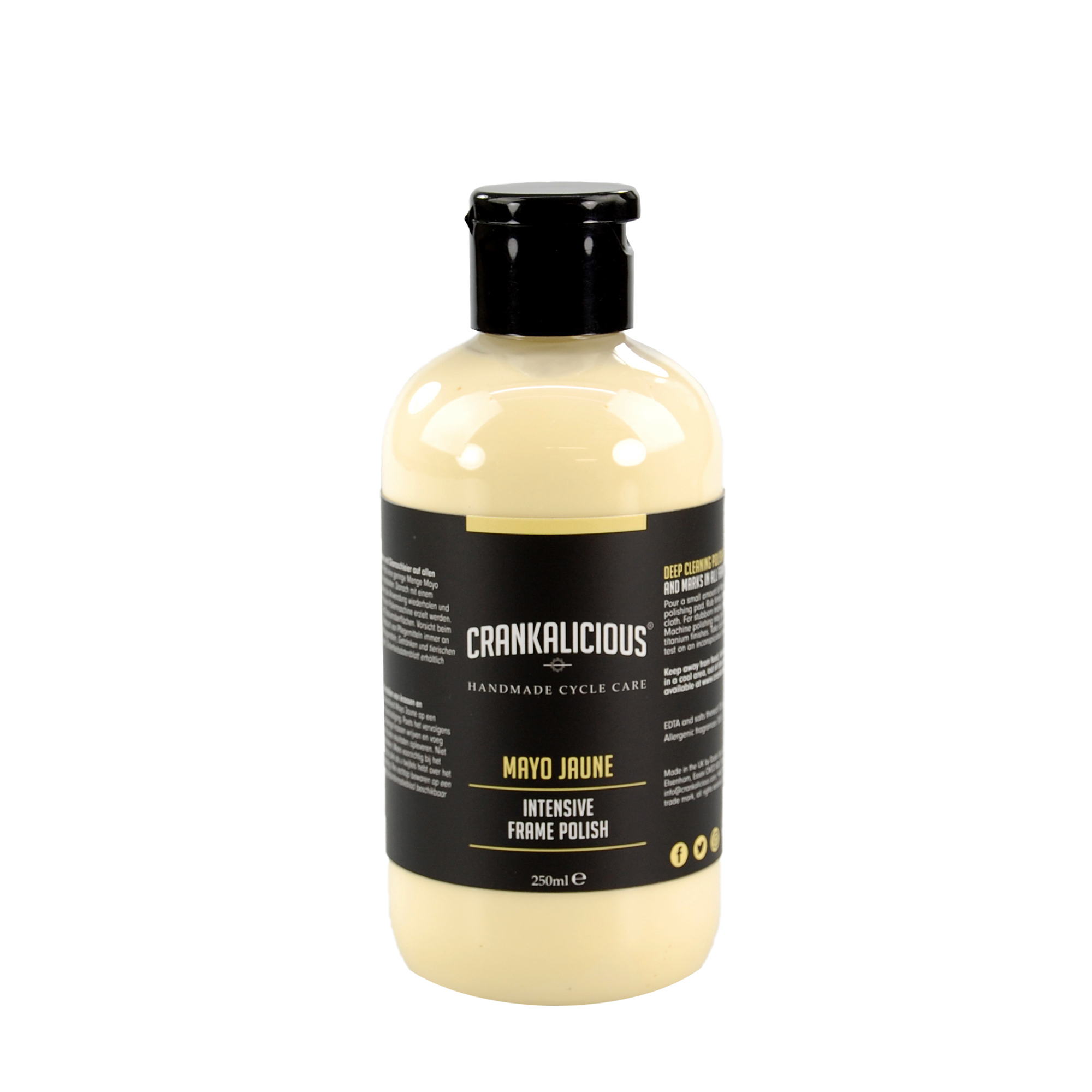 Crankalicious Mayo Jaune 250ml Intensive Cleaner One Size | polish_and_lubricant_component