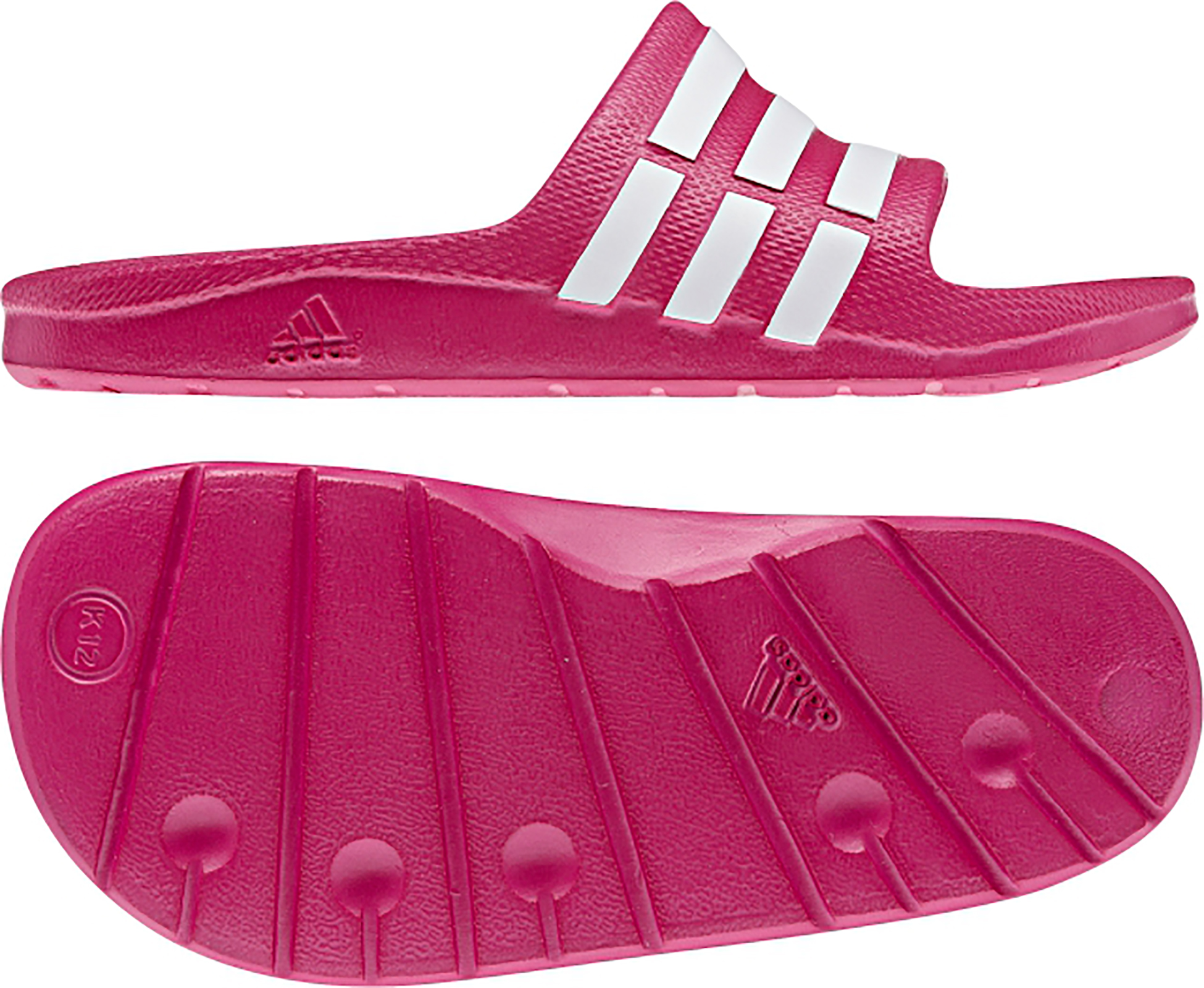 timeless design 8a1df d6f23 Tongs  adidas  Duramo Slides Sandals (Junior)  Wiggle France