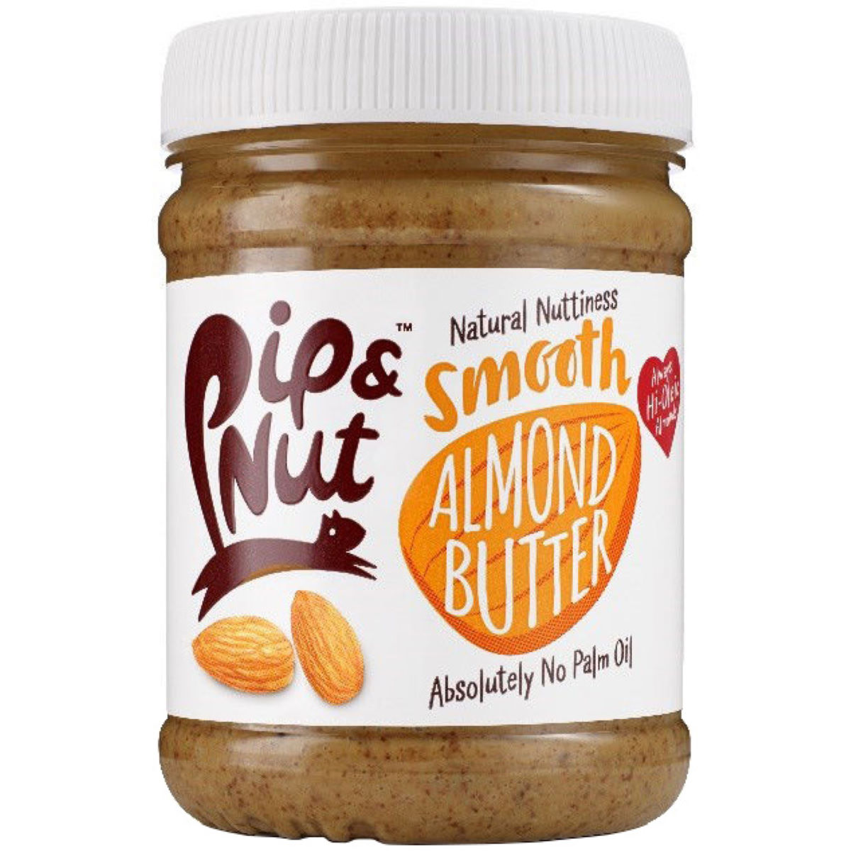 Image of Beurre d'amandes Pip & Nut Smooth (225 g) - 225g Almond Butter