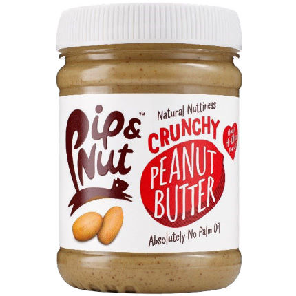 Pip and Nut Crunchy Peanut Butter 225g