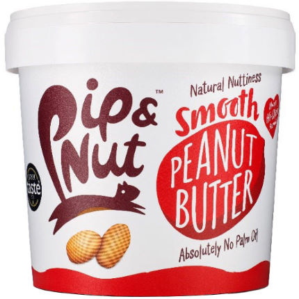Pip and Nut Smooth Peanut Butter (1kg)