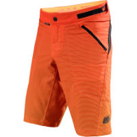 Troy Lee Designs Skyline Dissolve Orange Shell Shorts - Herre