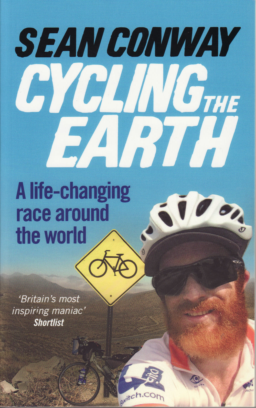 Cordee Cycling the Earth - Sean Conway | Bøger