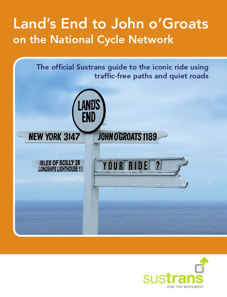 Cordee Land's End to John o'Groats on the National Cycle (engelsk) | Bøger