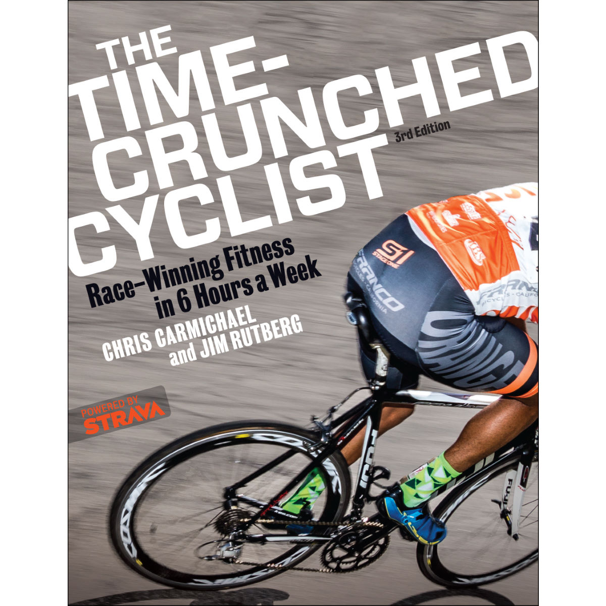 Image of Livre Cordee The Time Crunched Cyclist (en anglais) - Taille unique
