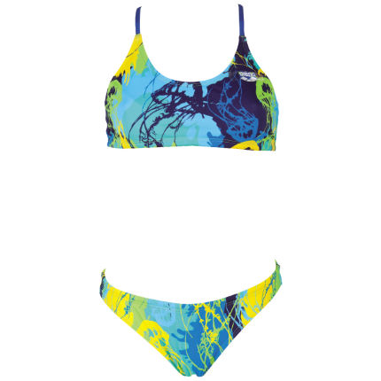 cbbe647592cfd View in 360° 360° Play video. 1. /. 3. Women's Underwater Two Piece Swimsuit  ...