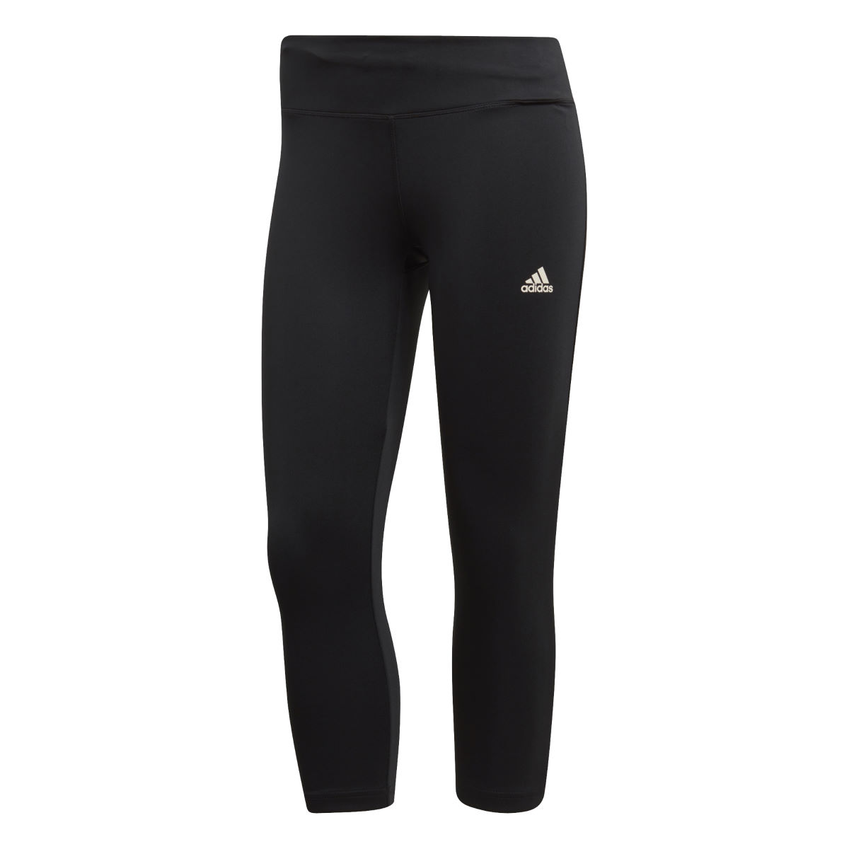 adidas Women's D2M RR Solid 3/4 Tight   Tights