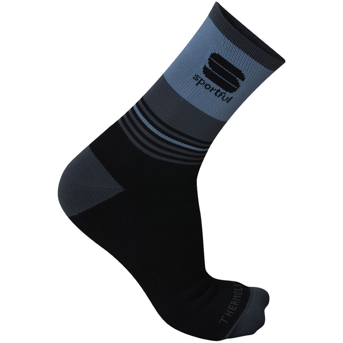 Image of Chaussettes Sportful Arctic 13 - S Black/Anthracite | Chaussettes