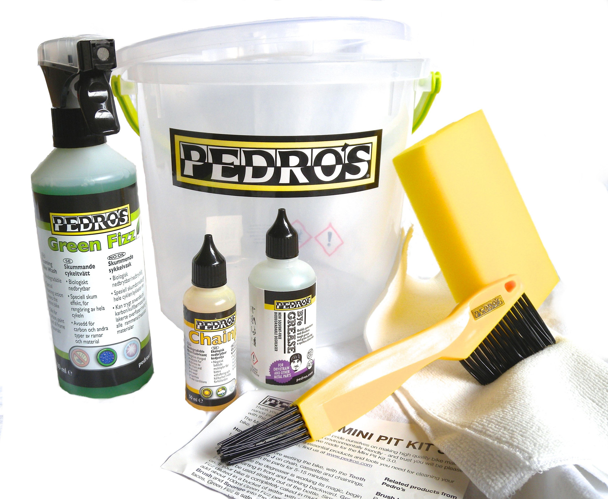 Pedros Mini Pit Kit | polish_and_lubricant_component
