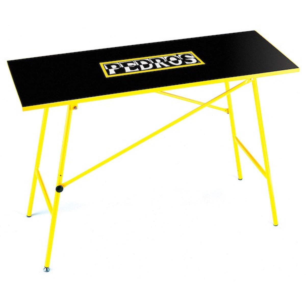 Pedros portable work bench workstands black yellow ped 6450800