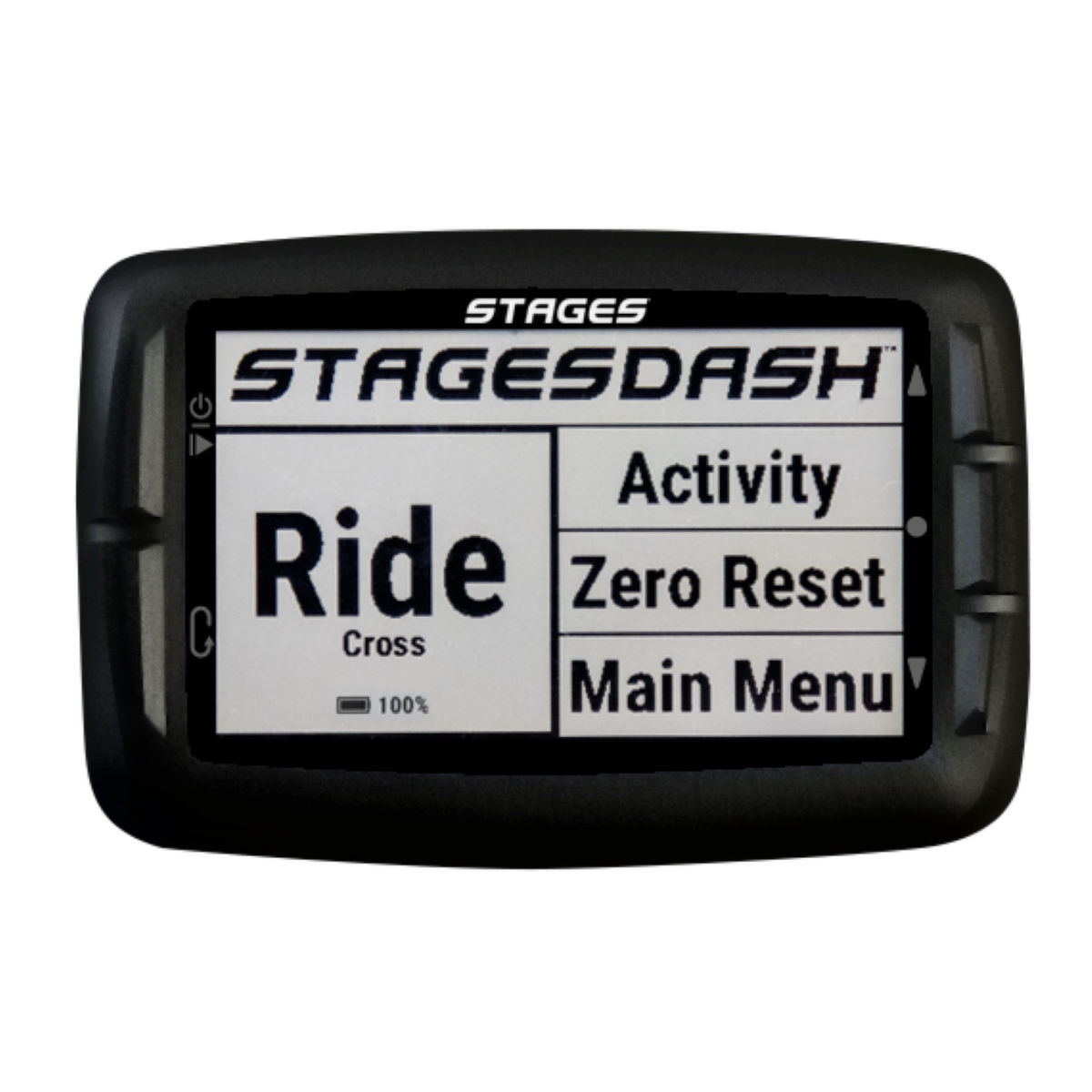 Stages cycling dash gps cycle computers black 2017 sta9410001