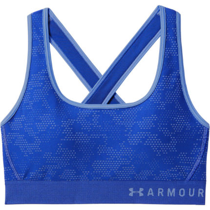 f5fefd2dd82 View in 360° 360° Play video. 1.  . 3. Formation Blue Talc  Armour Mid  Crossback Novelty Sports Bra ...