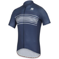 Maillot de manga corta Sportful Exclusive Stripe BodyFit Team