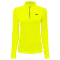 671cb3712efc dhb Womens Quarter Zip Waffle Run Fleece