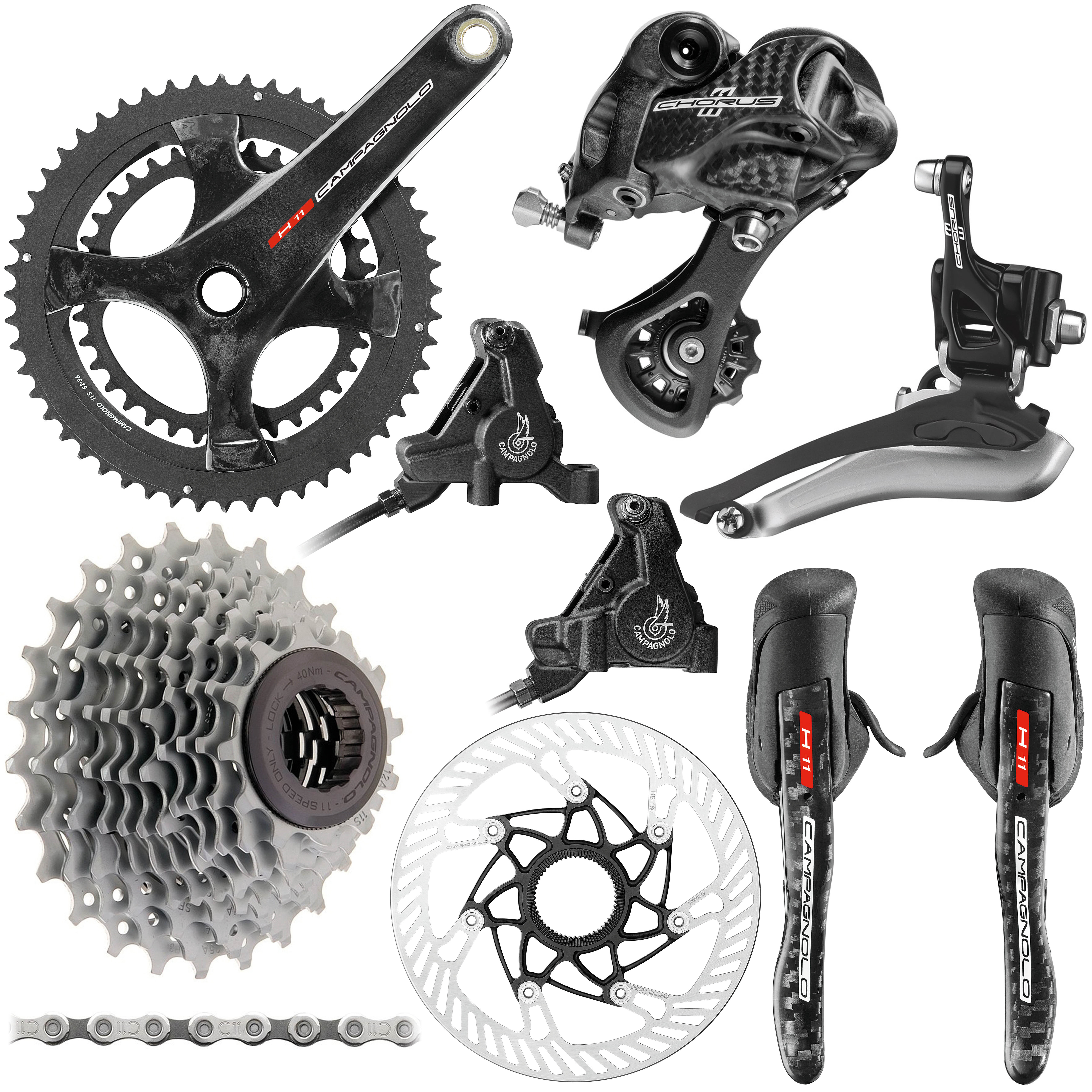 Campagnolo Chorus 11 Speed Hydraulic Disc Groupset | Groupsets