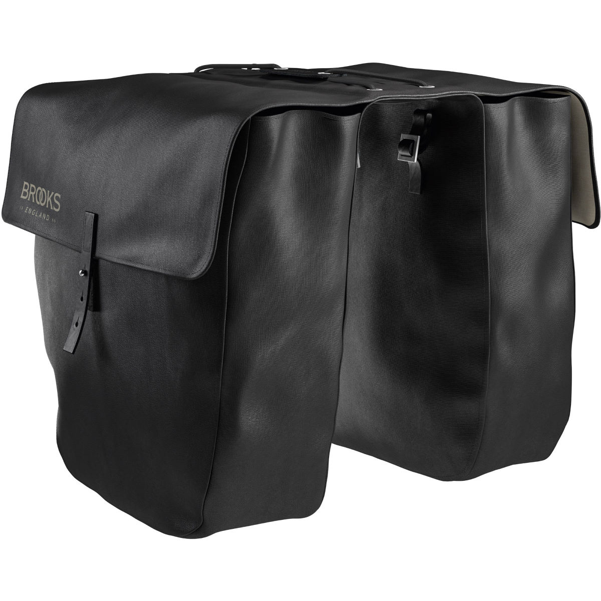 Brooks England Brick Lane Pannier Bag - 24 Litres Black  Pannier Bags