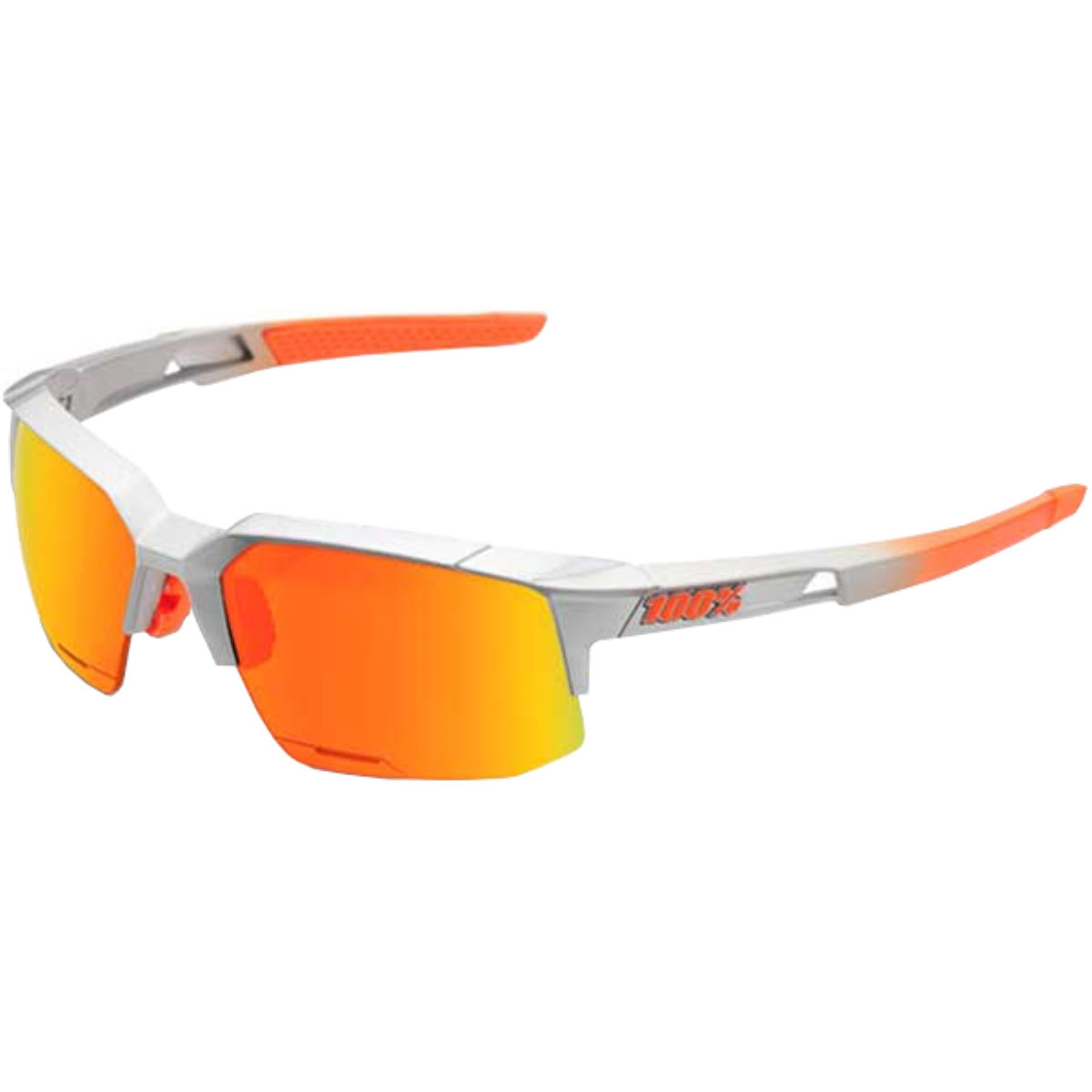 Image of 100% Speedcoupe w/ HD Red Multilayer Mirror - Arc Light | Sunglasses