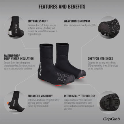 GripGrab Arctic X Overshoes