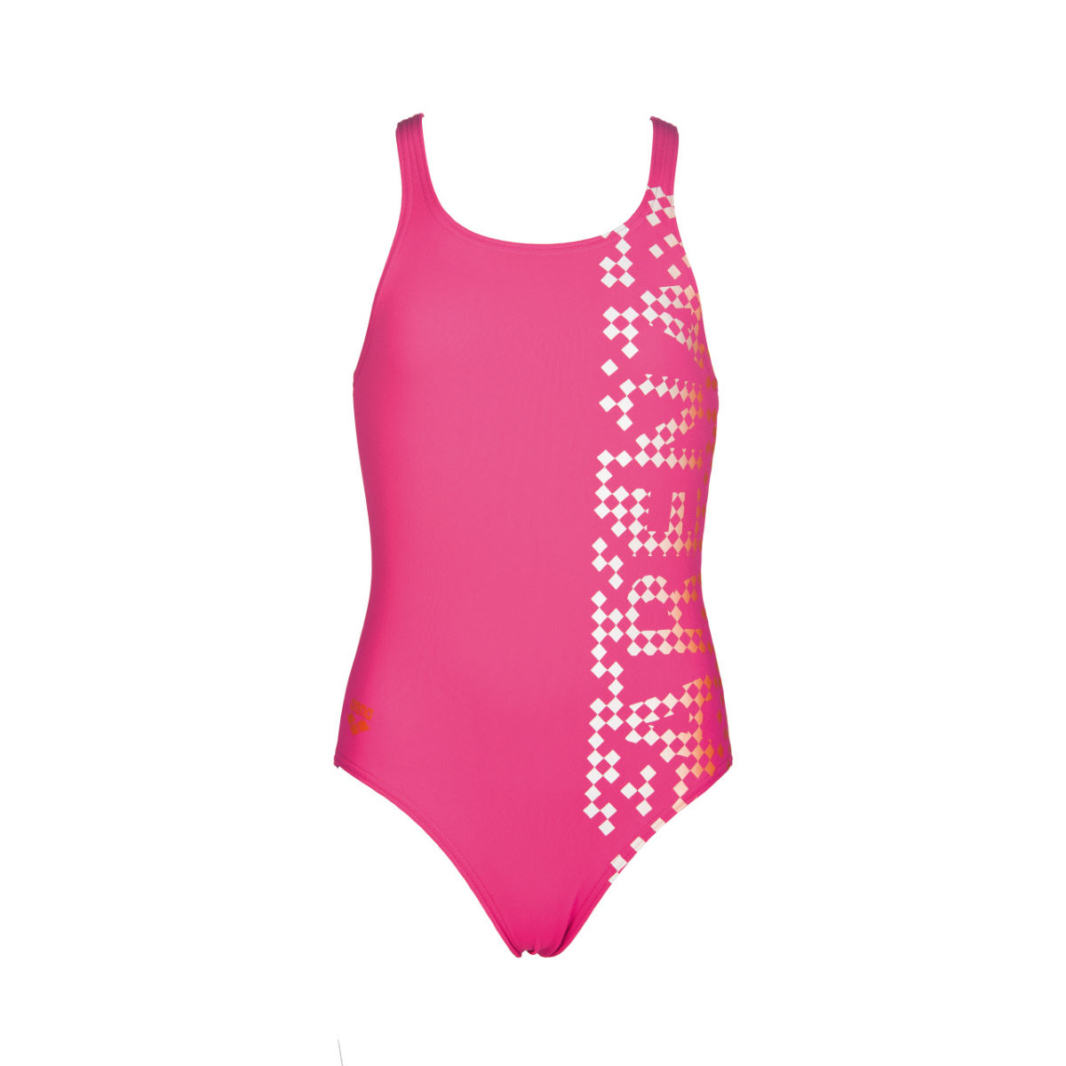 Arena girl s shed swimsuit internal rose mango aw17 000119 903 22 4