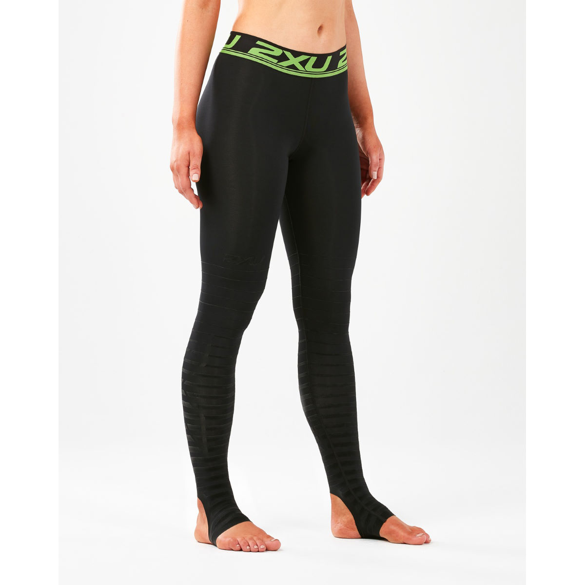 2xu Womens Power Recovery Compression Tights - M Black/nero