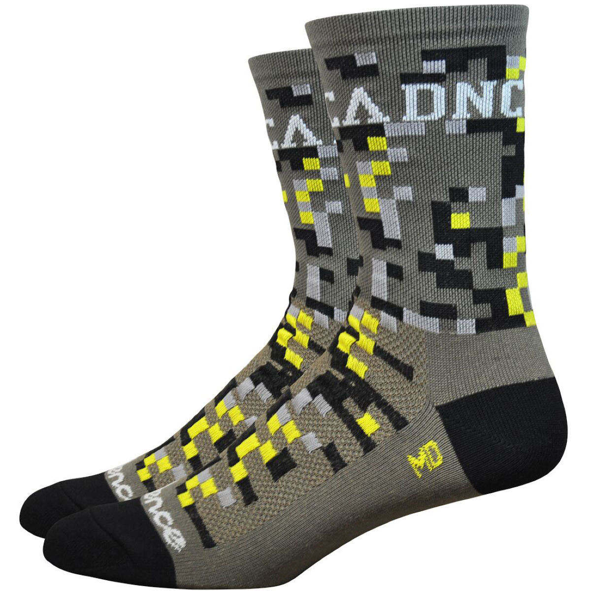 Image of Chaussettes DeFeet Aireator Cadence Digital Camo (13 cm environ) - S