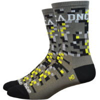 Chaussettes DeFeet Aireator Cadence Digital Camo (13 cm environ)