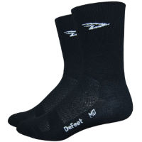 DeFeet Aireator D-Logo Double Cuff SocksBlack
