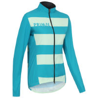 Primal Horizon Blue Wind Radjacke Frauen (winddicht)