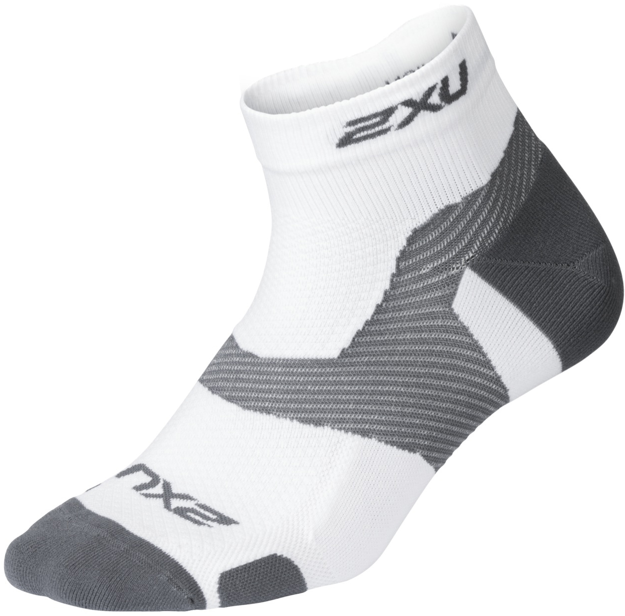 2XU Vectr Light Cushion 1/4 Crew Socks | Socks
