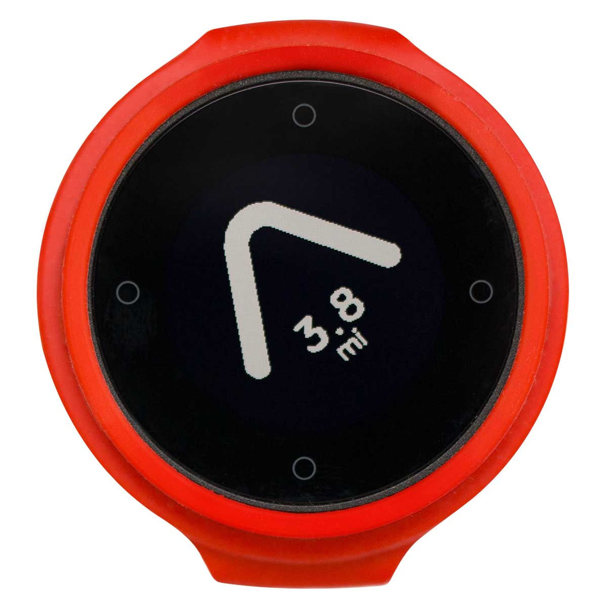 Image of Boussole Beeline Smart Navigation (avec Ride Tracking) - Hot Coal Red